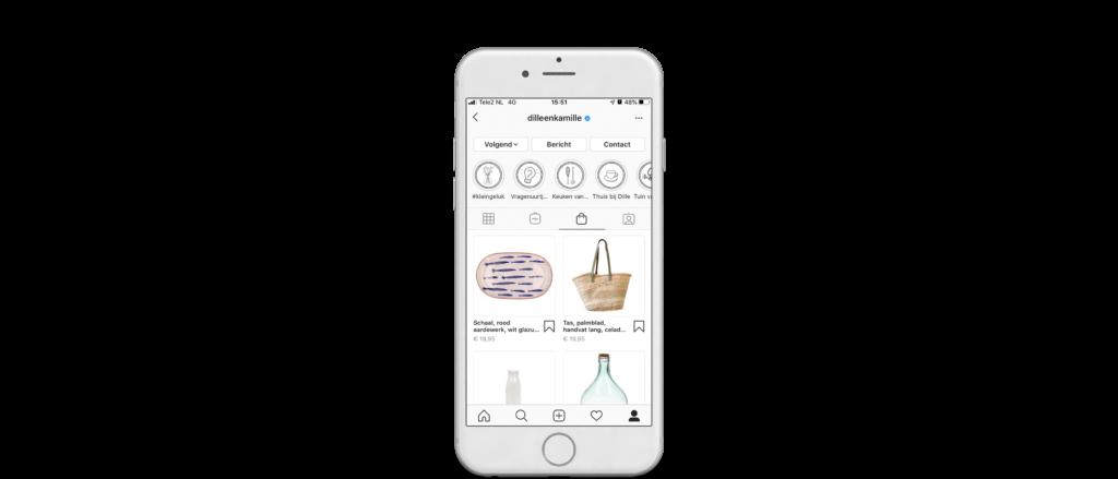 Instagram Shopping shop maken